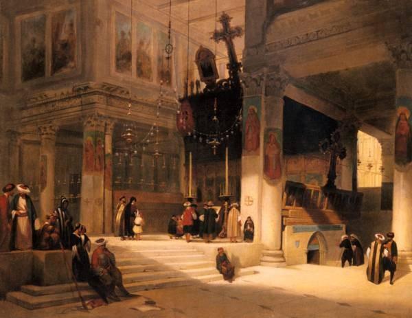 Brest Germain Fabius Followers Inside An Eastern Church